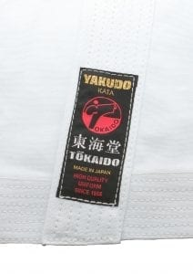 Karate Gi TOKAIDO YAKUDO, Made in Japan