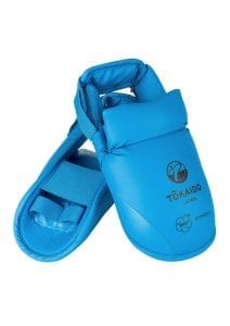 Foot guard, TOKAIDO, with velcro, WKF