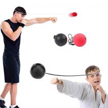 Focus Reflex Ball set, 2 BALLS, elastic band, adjustable