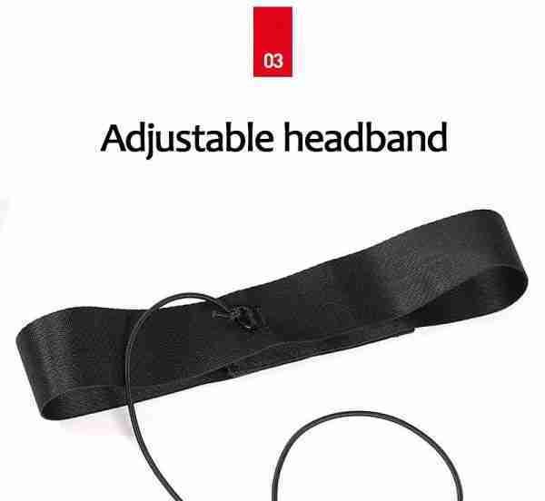 Focus Reflex Ball set, 2 BALLS, elastic band, adjustable