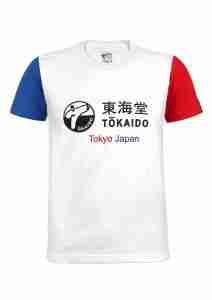 Karate T-Shirt TOKAIDO Aka / Ao