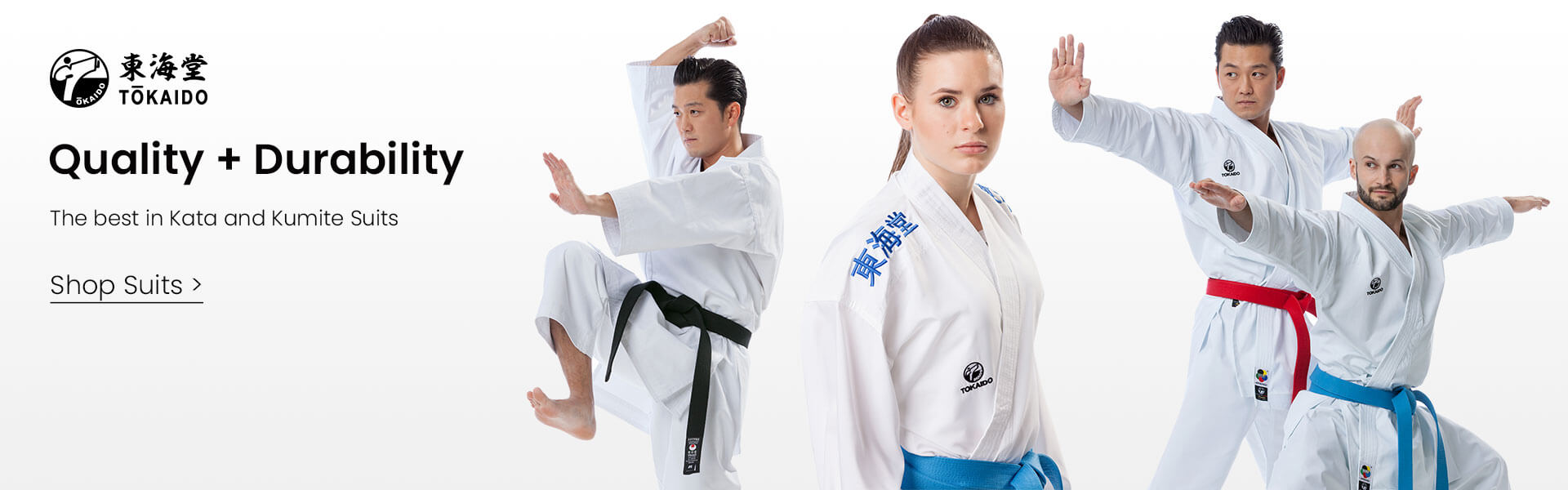 Quality + Durability - The best Kata and Kumite Suits